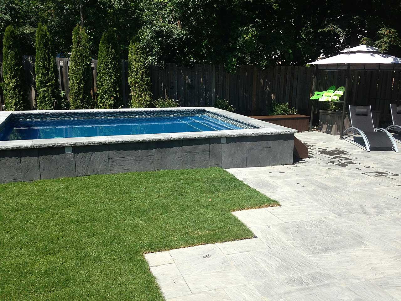 Elevated Pool Jet Pool Creation  Keocan