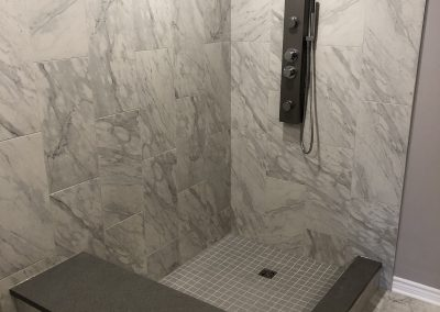 Large format wall and floor tile